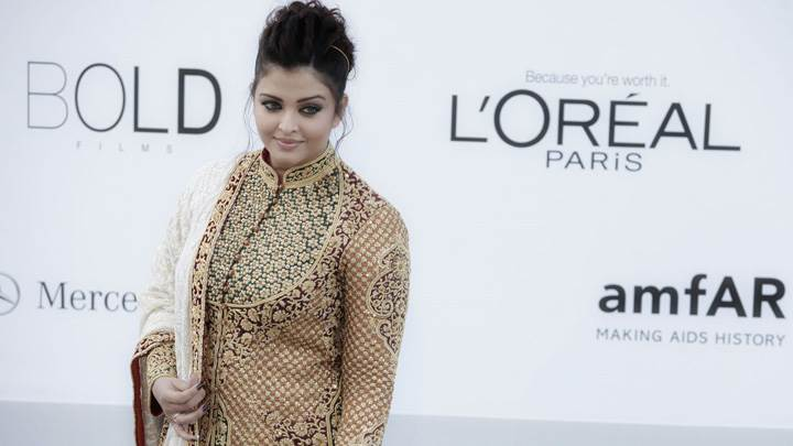 Aishwarya Rai Attends Amfar Cinema Against Aids Benefit